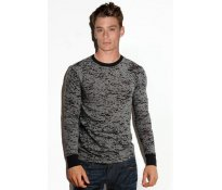 Men's Burnout Long Sleeve Therma