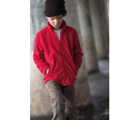 Kariban KIDS ZIP THROUGH FLEECE