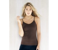 BELLA COTTON SPANDEX CAMISOLE WI