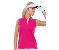 Ladies Sports Sleeveless Polo