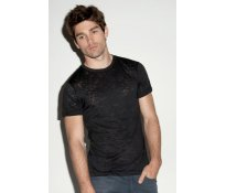 Men's Burnout Crew Neck T-Shirt