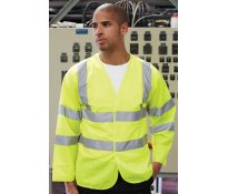 Hi-Vis Long Sleeve Vest